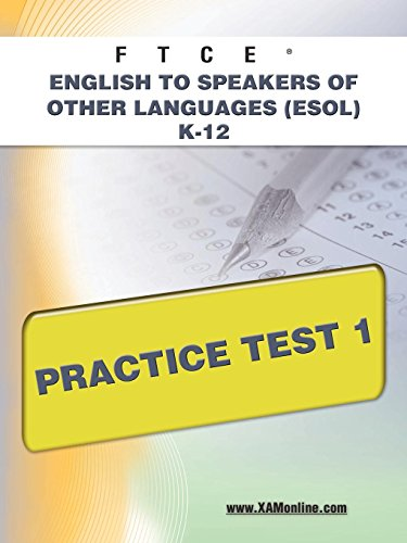 9781607873181: FTCE English to Speakers of Other Languages (ESOL) K-12 Practice Test 1
