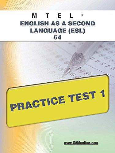 9781607873204: MTEL English as a Second Language (ESL) 54 Practice Test 1