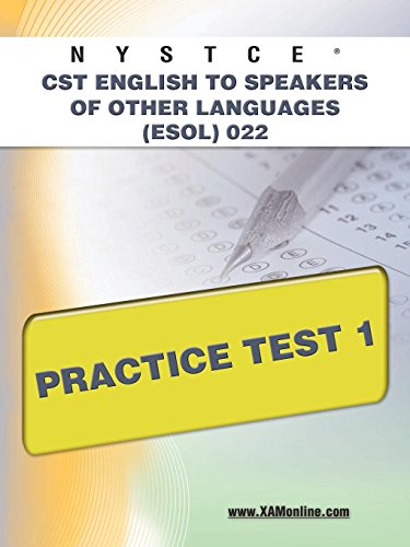 9781607873211: NYSTCE CST English to Speakers of Other Languages (ESOL) 022 Practice Test 1