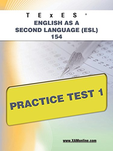 9781607873228: TExES English as a Second Language (ESL) 154 Practice Test 1