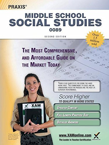 9781607873440: Praxis Middle School Social Studies 0089 Teacher Certification Study Guide Test Prep