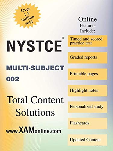 9781607873587: NYSTCE Multi Subject 002: CST Multi-Subject 002