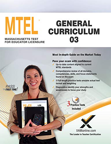 9781607874034: MTEL General Curriculum 03