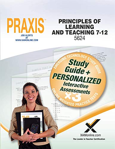 9781607874386: Praxis Principles of Learning and Teaching 7-12 5624 Book and Online