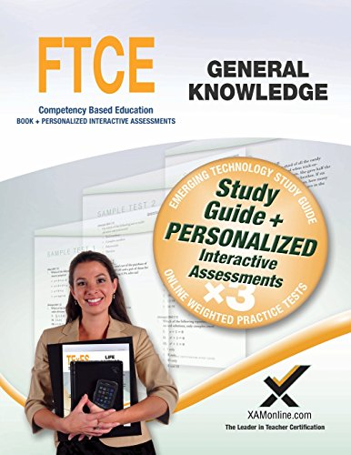 9781607874577: FTCE General Knowledge Book and Online