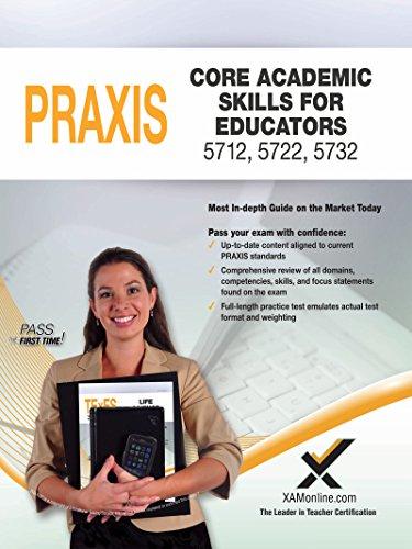 9781607874584: 2017 Praxis Core Academic Skills for Educators (5712, 5722, 5732)