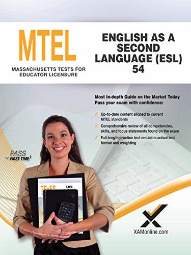 2017 MTEL English as a Second Language (ESL) (54) (Paperback)