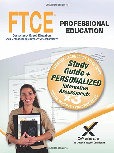 9781607874744: FTCE Professional Education Book and Online