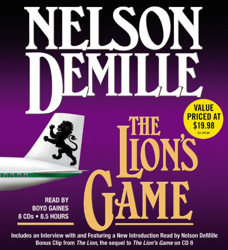 The Lion's Game (A John Corey Novel): Nelson DeMille