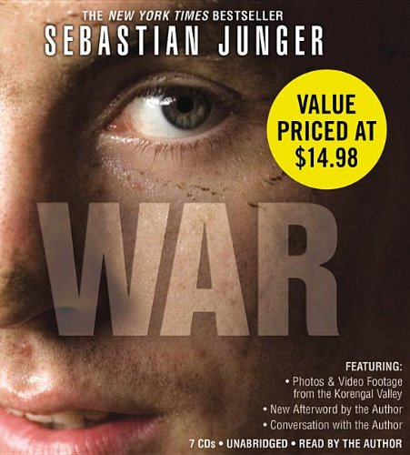 War [With Earbuds] (Playaway Adult Nonfiction): Sebastian Junger