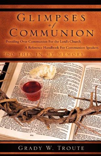 9781607919636: GLIMPSES OF COMMUNION