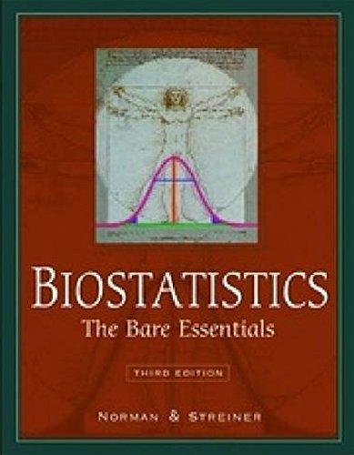 9781607951636: Biostatistics: The Bare Essentials