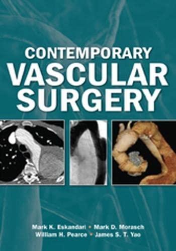 9781607951667: Contemporary Vascular Surgery