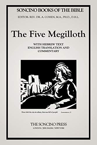 The Five Megilloth (Soncino Books of the: A D Cohen