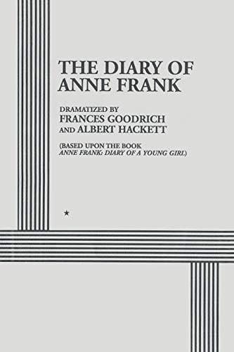 The Diary of Anne Frank (Paperback): Frances Goodrich, Albert