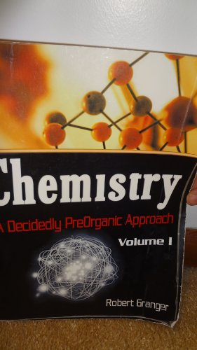 Chemistry: A Decidedly Preorganic Approach: Granger, Robert