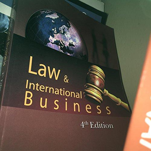 9781607974079: Law & International Business 4th Edition