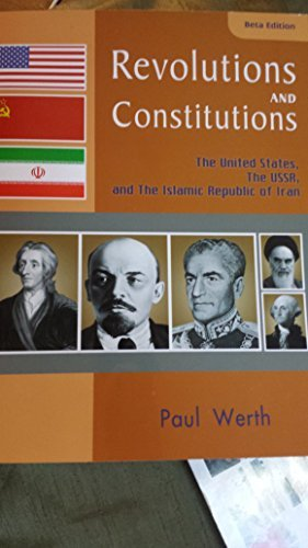 Revolutions and Constitutions the United States, the