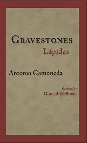 9781608010028: Gravestones Lapidas