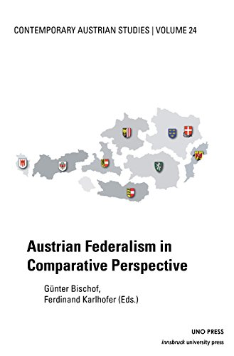 9781608011124: Austrian Federalism in Comparative Perspective (Contemporary Austrian Studies)