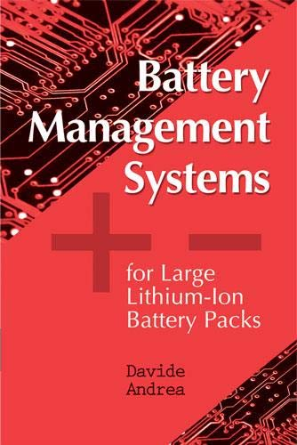 9781608071043: Battery Management Systems for Large Lithium Ion Battery Packs