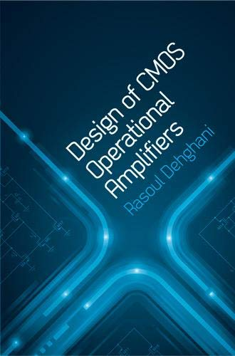 9781608071531: Design of CMOS Operational Amplifiers (Artech House Microwave Library) (Artech House Microwave Library (Hardcover))