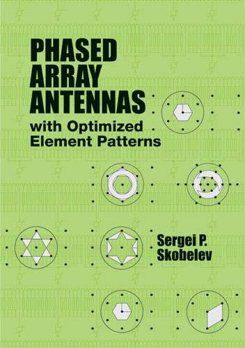 9781608071906: Phased Array Antennas With Optimized Element Patterns (Artech House Antennas and Propagation Library)