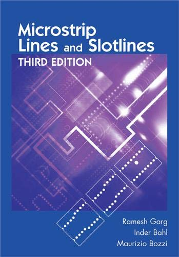9781608075355: Microstrip Lines and Slotlines, Third Edition (Artech House Microwave Library (Hardcover))