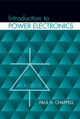 9781608077199: Introduction to Power Electronics (Power Engineering)