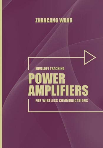 9781608077847: Envelope Tracking Power Amplifiers for Wireless Communications (Artech House Microwave Library)