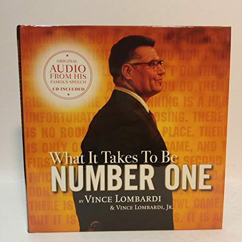 9781608100316: What it Takes to be Number One (Book/dvd/cd set)