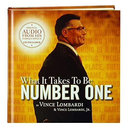 What it Takes to be Number One (Book/dvd/cd set) (9781608100316) by Vince Lombardi; Vince Lombardi Jr.