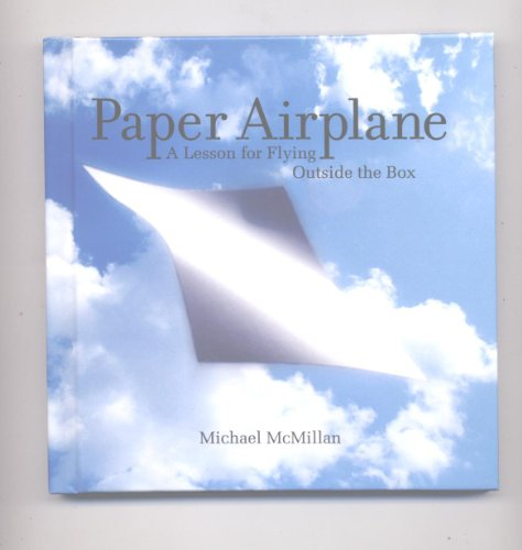 9781608100477: Paper Airplane A Lesson for Flying Outside the Box & DVD