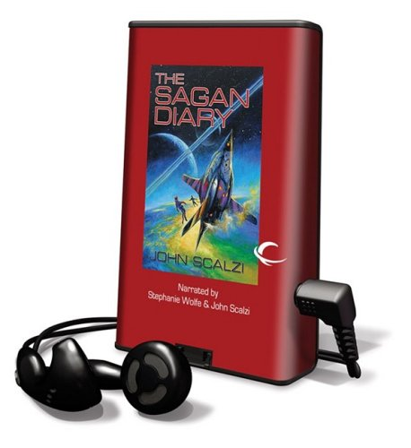 9781608128570: The Sagan Diary [With Earbuds] (Playaway Adult Fiction)