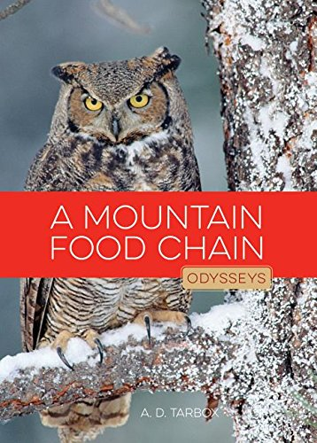 9781608185405: A Mountain Food Chain (Odysseys in Nature)