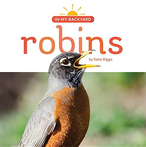 Robins (Hardcover): Kate Riggs