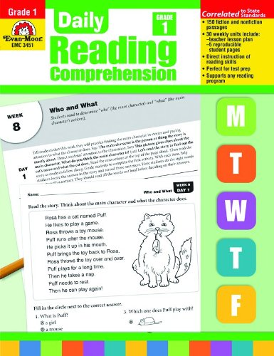 9781608236329: EMC3451 - DAILY READING COMPREHENSION GR 1