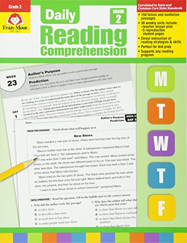 9781608236336: Daily Reading Comprenesion, Grade 2 (Daily Reading Comprehension)