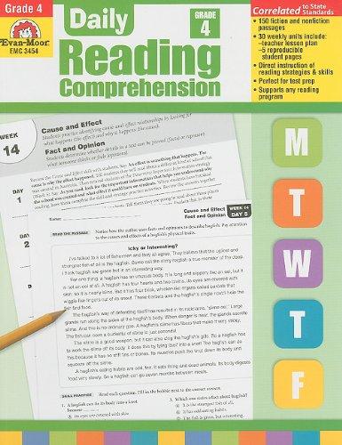 Daily Reading Comprehension, Grade 4: Evan Moor