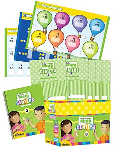 9781608236664: Daily Math Practice Centers, Grade 3 Classroom Resource Kit