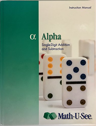 Alpha Instruction Manual: Math-U-See