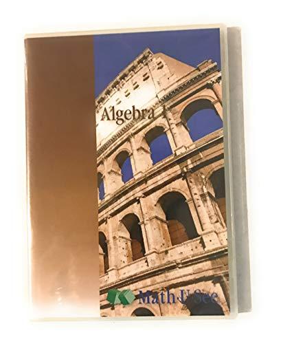 9781608260348: Math U See Algebra 1 Instruction Manuel with DVDs
