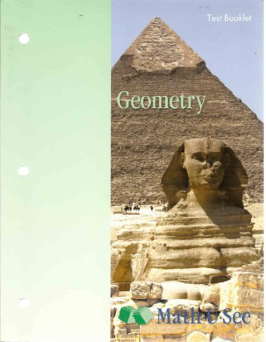 9781608260386: Math U See Geometry Test Booklet