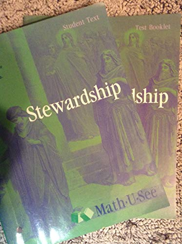 9781608260539: Math-u-see Stewardship Student and Test book