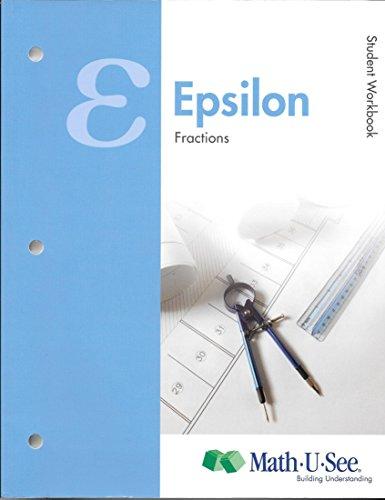 9781608260706: Math.U.See Epsilon Student workbook and test book