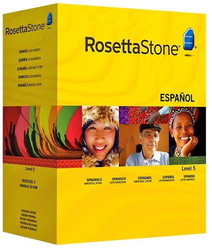 9781608297658: Rosetta Stone : Espagnol (Amérique Latine) Niveau 5 avec Audio Companion