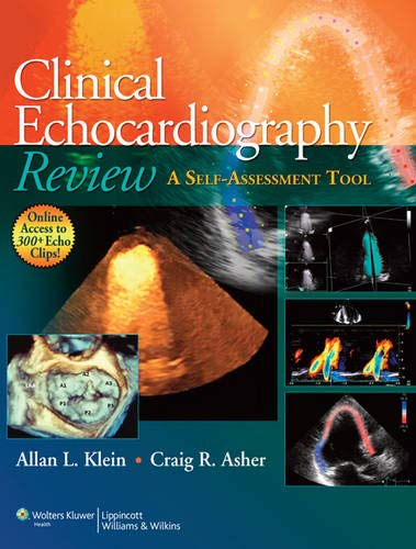 9781608310548: Clinical Echocardiography Review: A Self-Assessment Tool