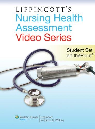 9781608310951: Lippincott Nursing Health Assessment Video Series: Student Set on thePoint