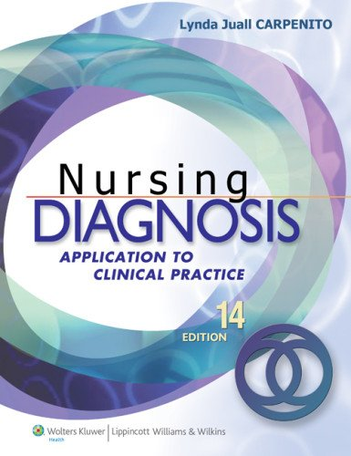 Nursing Diagnosis: Application to Clinical Practice: Carpenito RN MSN