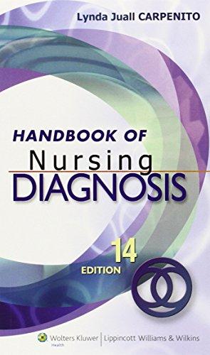 9781608311101: Handbook of Nursing Diagnosis